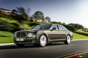 Bentley Mulsanne 2015 : aperçu