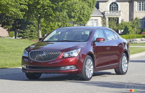 2015 Buick LaCrosse Preview