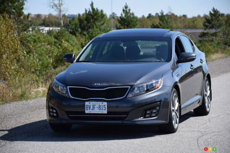 Kia Optima SX Turbo 2015 : essai routier