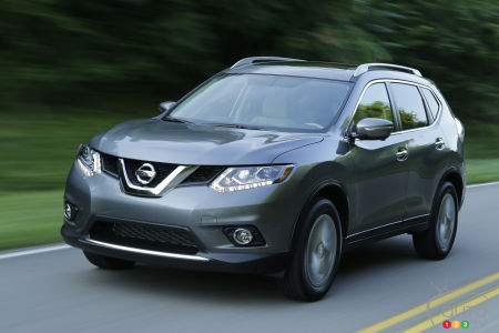 2015 Nissan Rogue Preview