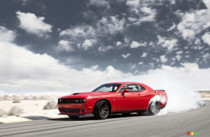 Dodge Challenger SRT Hellcat on its way to dealerships