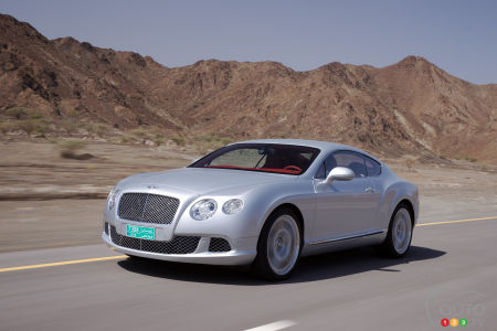 Bentley Continental GT 2015 : aperçu