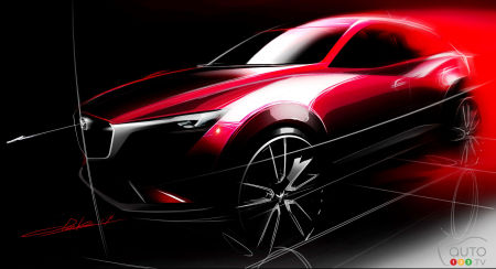 Watch the unveiling of the new 2016 Mazda CX-3 live on Youtube