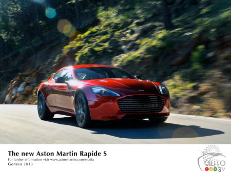 2015 Aston Martin Rapide S Preview