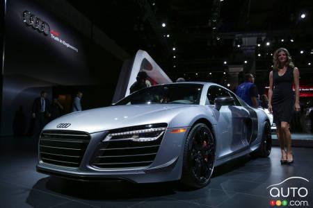 Los Angeles 2014 2015 Audi R8 Competition Pictures Car News Auto123