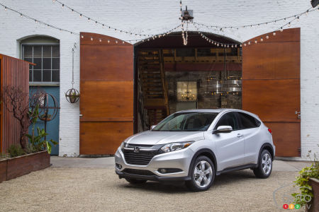 Los Angeles 2014: All-new Honda HR-V makes anticipated debut