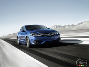 Los Angeles 2014: Acura ILX gets updated for 2016