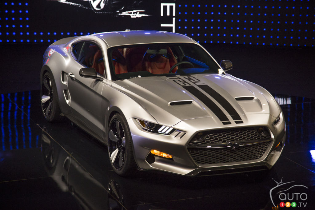 Los Angeles 2014: Ford Mustang Rocket by Henrik Fisker and Galpin