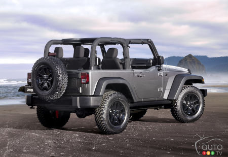 New 8-speed autobox in store for 2018 Jeep Wrangler