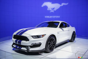Los Angeles 2014: Ford's new Mustang Shelby GT350