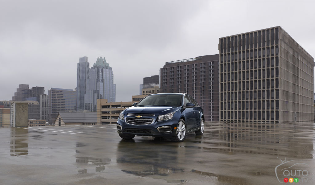 2015 Chevrolet Cruze Preview