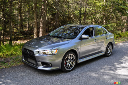 2014 mitsubishi lancer evolution mr review editor's review | car