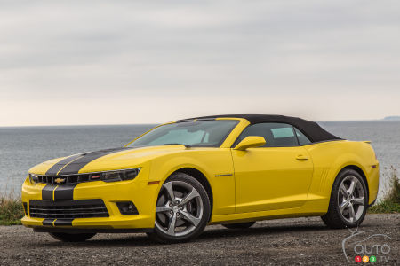 2015 Chevrolet Camaro SS Convertible Review