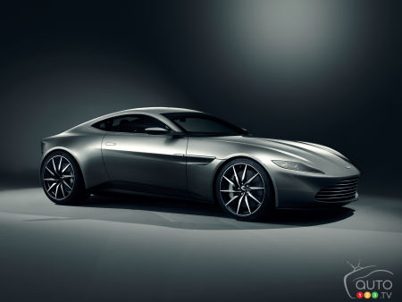 Voici la nouvelle Aston Martin DB10 de James Bond!