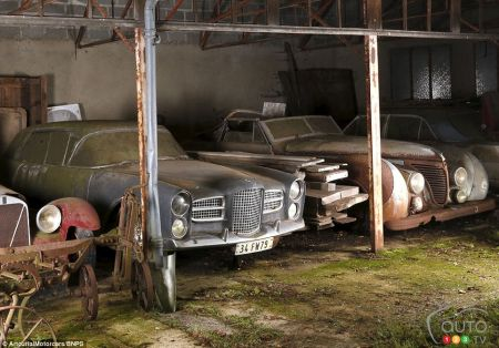"Can you say ""priceless?"" Long-forgotten cars discovered in France, put on sale"