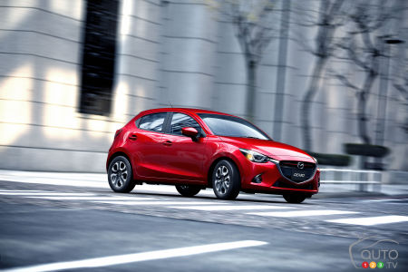 2016 Mazda2 lands in Montreal
