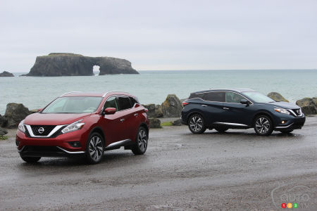 Nissan Murano 2015 : premières impressions