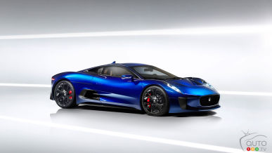 Jaguar C-X75 added to new James Bond movie cast