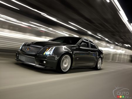 Cadillac announces 2016 CTS-V, debut set for Detroit Auto Show