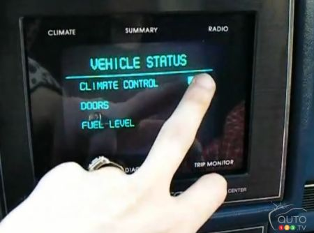 World's first in-car touchscreen found in 1987 Buick
