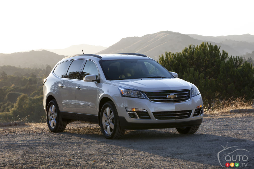 2014 Chevrolet Traverse Preview
