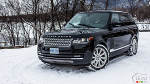 Range Rover Supercharged 2014 : essai routier