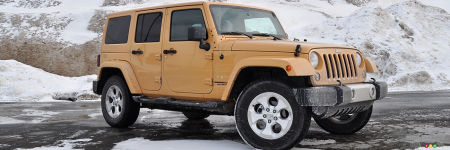 Jeep Wrangler Unlimited Sahara 4x4 2014 : essai routier