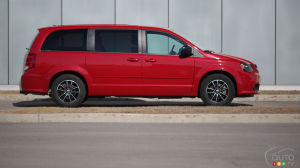 2014 Dodge Grand Caravan SXT Blacktop Review
