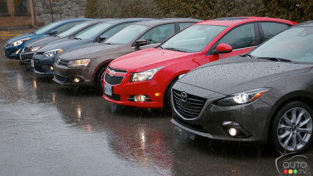 2014 Compact car comparison test: The real shopping list