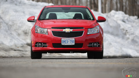 2014 Chevrolet Cruze 2LT RS Review
