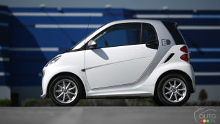 2014 smart fortwo electric drive Review