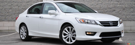 Honda Accord Touring 2014 : essai routier