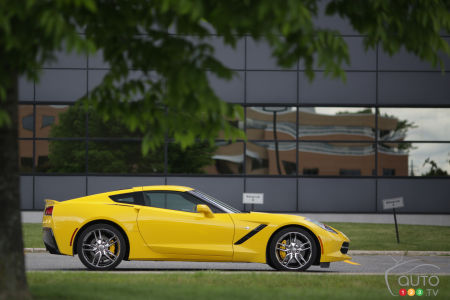 Chevrolet Corvette Stingray Coupé Z51 2014 : essai routier