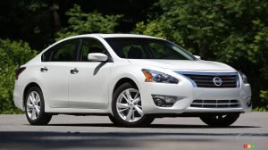 2014 Nissan Altima 2.5 SV Review