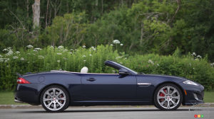 2014 Jaguar XKR convertible review