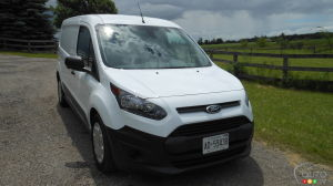 Ford Transit Connect 2015 : essai routier