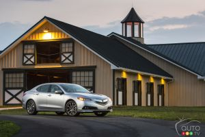 Acura TLX 2015 : premières impressions