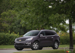 2014 Chevrolet Traverse LTZ Review