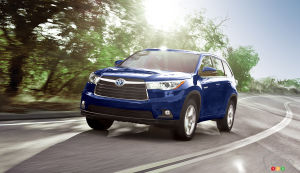 2015 Toyota Highlander Hybrid Preview