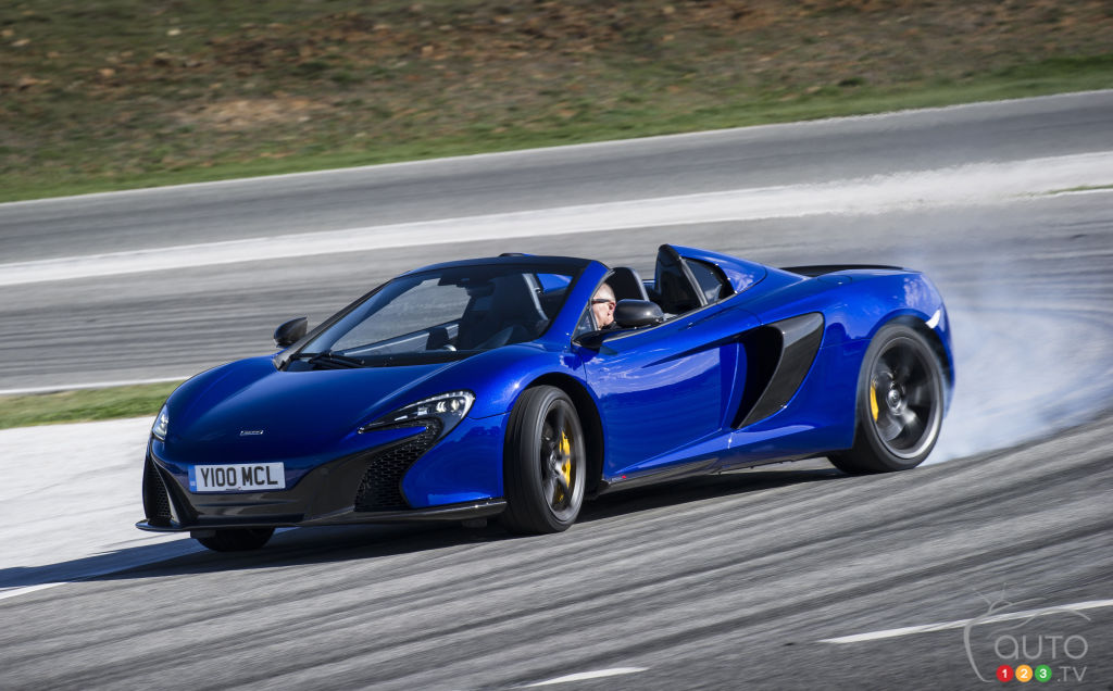 2015 McLaren 650S Spider First Impression