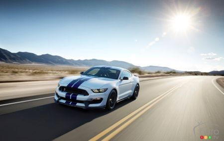 La 1re Ford Mustang Shelby GT350 2015 ira à l'encan