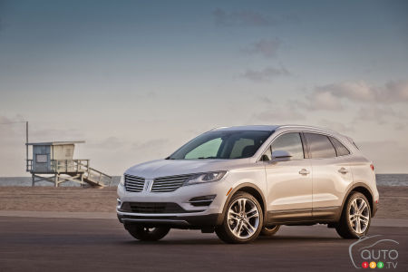 Ford rappelle 13 500 Lincoln MKC 2015 dont le contact pourrait être coupé accidentellement