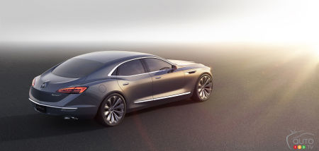 Detroit 2015: Buick Avenir concept makes debut