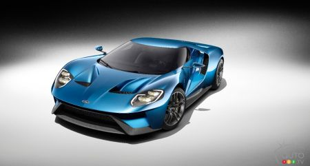 Detroit 2015: Ford takes wrap off all-new GT supercar