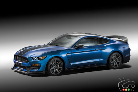 Detroit 2015: Ford Mustang Shelby GT350R is ready for the track!