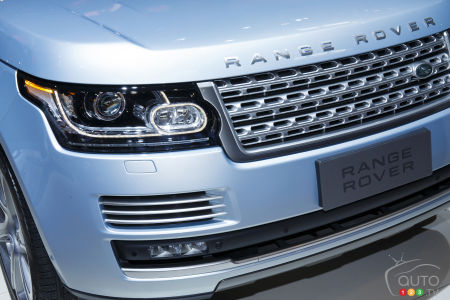 Detroit 2015: First two diesel-powered Land Rovers in North America