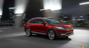 Detroit 2015: Lincoln introduces all-new 2016 MKX