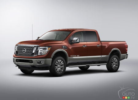Canadian premiere of 2016 Nissan Titan XD announced