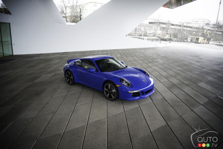 Porsche unveils limited-edition 911 Carrera GTS Club Coupe