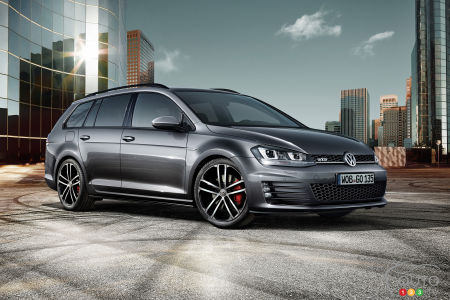 Volkswagen Golf Wagon GTD announced for Geneva Auto Show